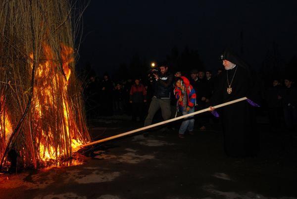 HH Karekin II, Feast of the Presentation