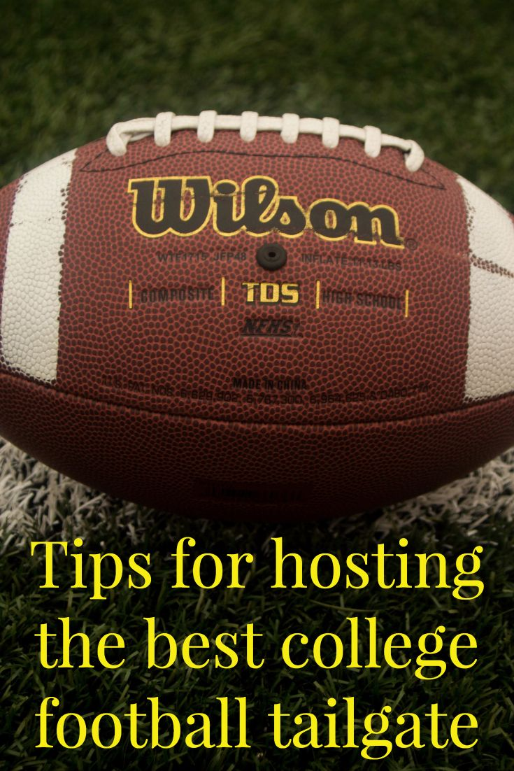 What you need to take your college football tailga…