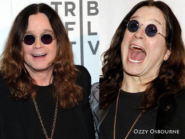 Ozzy Osbourne Round Glasses Hunt Fashion Eyewear