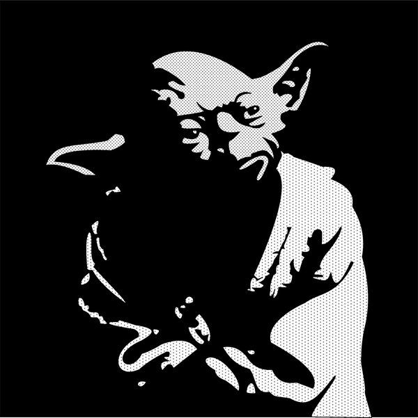 """Master Yoda by ~Hyzave on deviantART - something like this over the whiteboard with """"Judge me by my size, do you?"""""""