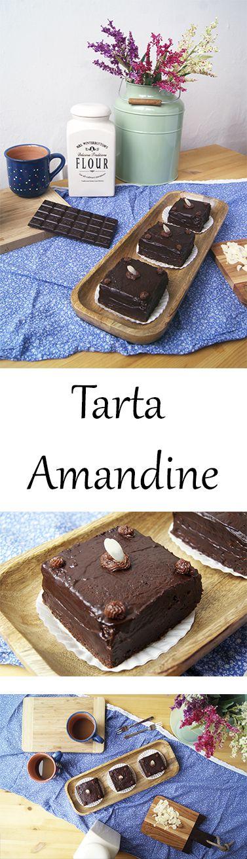 Pastel de chocolate, con relleno y cubierta de chocolate, bañado con sirope de café. Receta rumana.