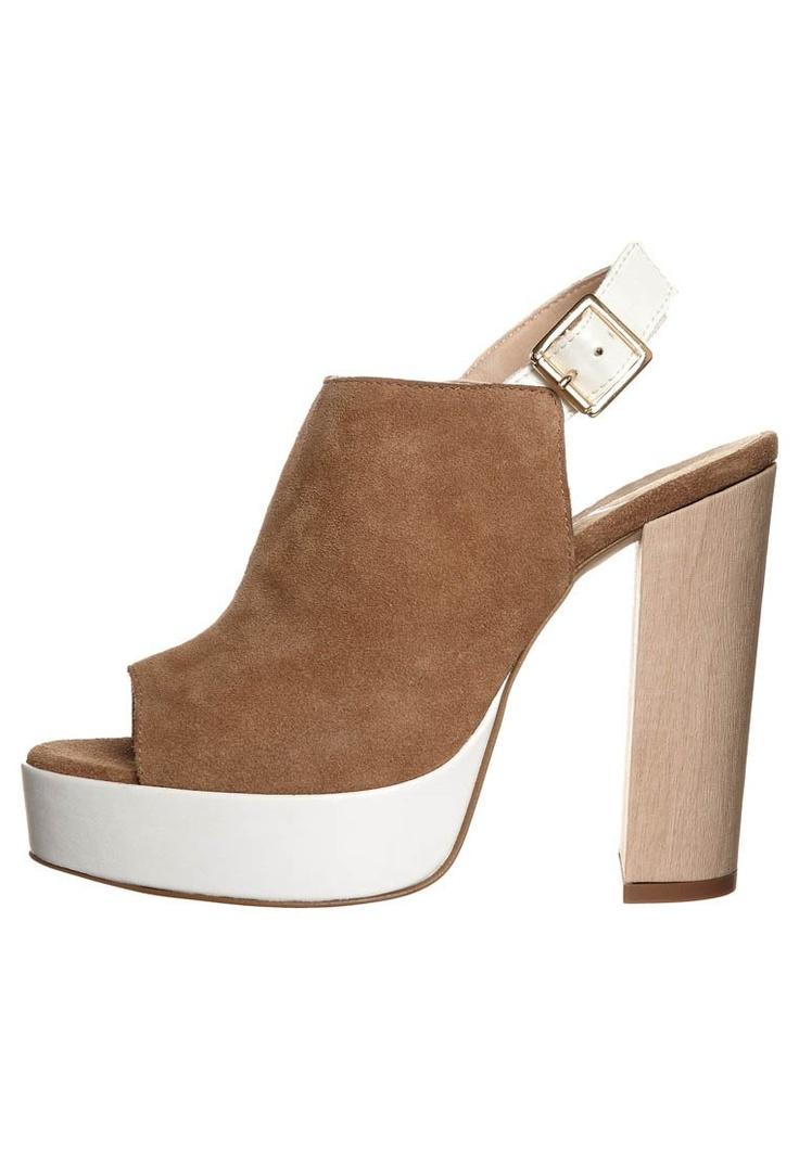 Zign - Sandalen met hoge hak - Bruin