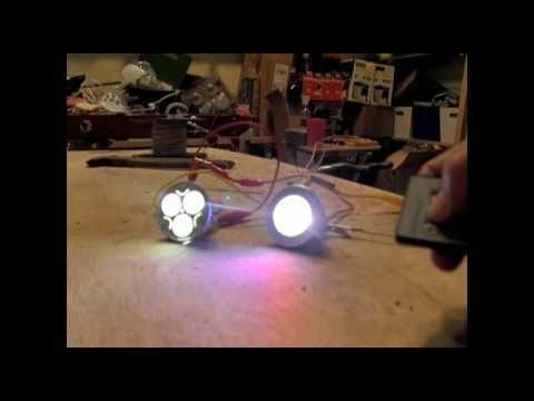 "6 Watt Solar Panel 2 Watt LED Light Emitting Diode Indoor Outdoor Lighting ""Top DIY Solar Panels"" - YouTube"