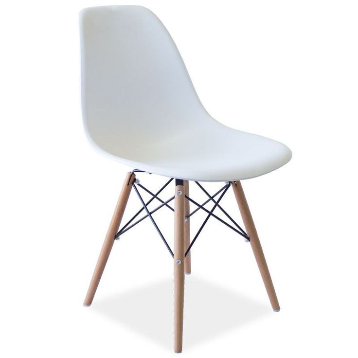Eames Replica DSW Dining Chair White | The Design Store NZ