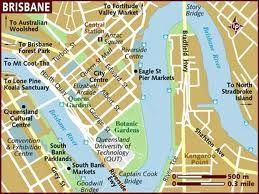 map of brisbane australia - Google Search