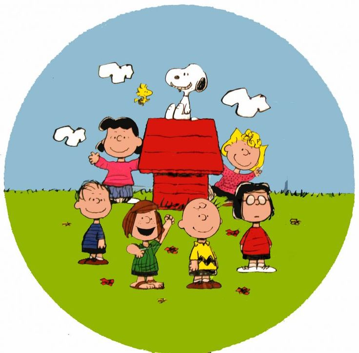 Peanuts Gang Balloon