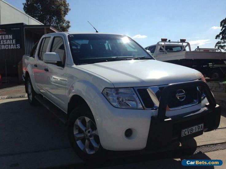 2012 Nissan Navara D40 MY12 ST (4x4) White Automatic 5sp A Dual Cab Pick-up #nissan #navara #forsale #australia