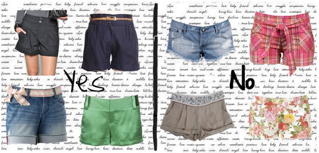 Moda per principianti: shorts Donna a Mela