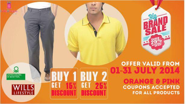 Big Brand Sale! Biggest saving of this months!! Visit store www.indiashoppe.com