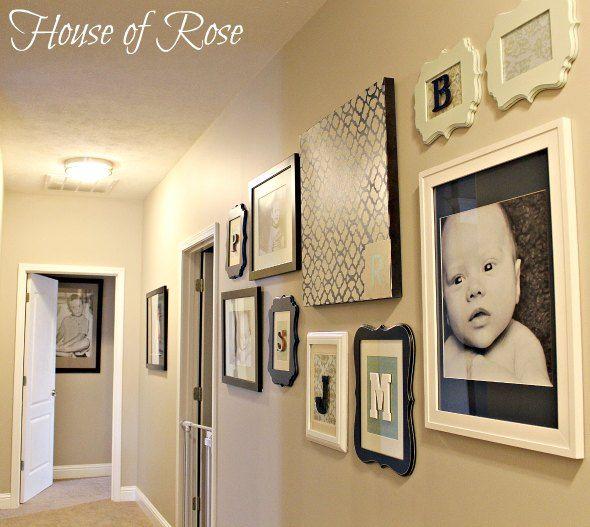 31 Brilliant Stairs Decals Ideas Inspiration: 25+ Best Ideas About Hallway Walls On Pinterest