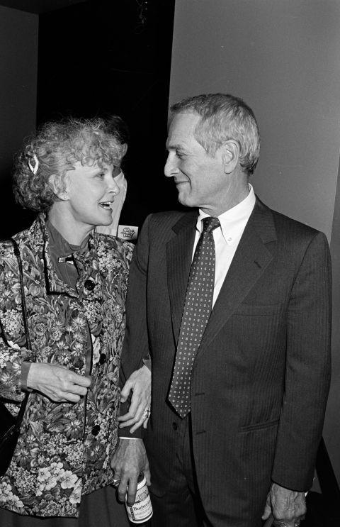 Paul Newman y Joanne Woodward: amor con mayúsculas