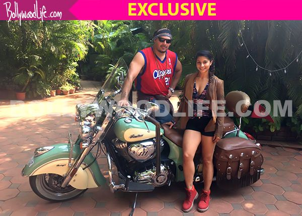 Former Bigg Boss contestant Tanishaa Mukerji explores her adventurous side, goes from Mumbai to Goa on a bike – view pics #FansnStars