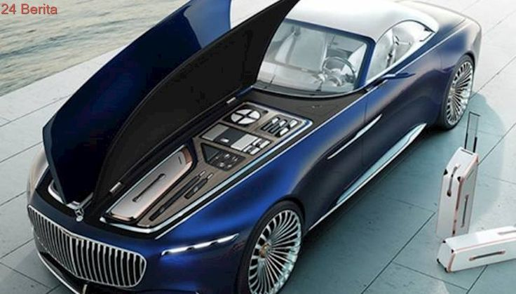 Mercedes Pamer Mobil Mirip Kapal Pesiar, Panjangnya 6 Meter