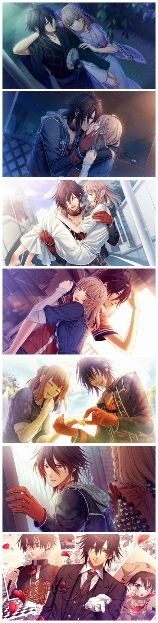 Heroine And Shin The Photos Are Out Of Order But Anyway Amnesia ShinAmnesia AnimeAmnesia