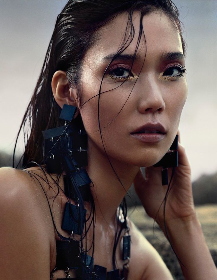 Tao Okamoto Stuns in Summer Beauty for Vogue China July 2014 by David Slijper