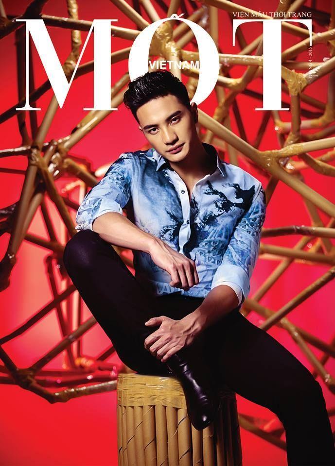 Nguyen Van Son - Mister Global 2015 - Cover MOT Magazine