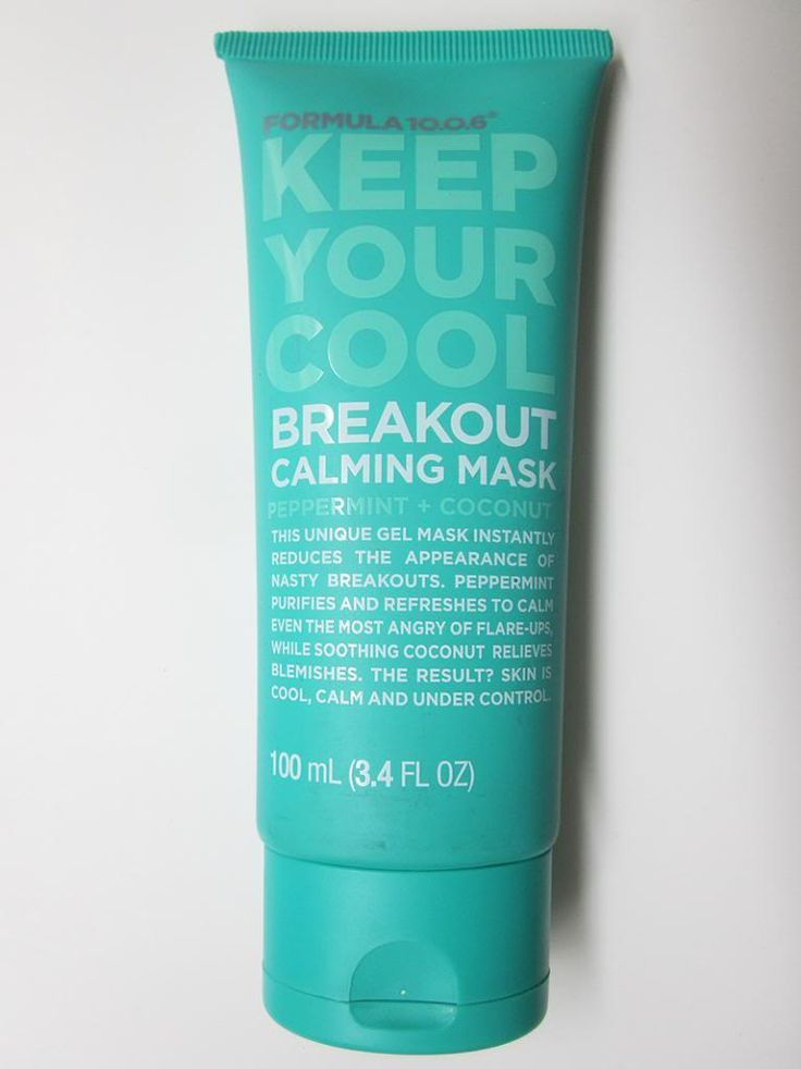 Formula 10.0.6 Keep your cool. Breakout calming mask. Love it! so amazing