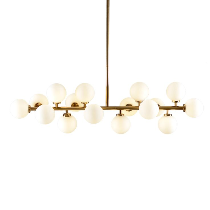 (892.23$)  Watch more here  - Nordic 1 meter creative 16 head led chandelier light Toolery glass lampshade gold body Hanging lamp villa G4 LED lamp 3W AC220V
