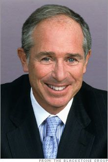 """Steve Schwarzman - Chief executive officer of Blackstone Group,the worlds biggest private equity firm will be hiring 50,000 US military veterans in it's portfolio companies by 2018,he also has donated 100 million to start his own version of the Rhodes Scholarship,so far he and other private donors  have raised 200 million for what will be the """"Schwarzman Scholarship"""" ."""
