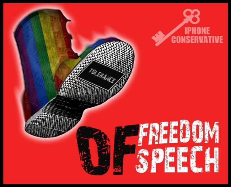 Freedom of speech is specifically for that speech that confronts or offends. Innocuous speech needs no protection. Something the Gaystapo deliberately choose to misunderstand.