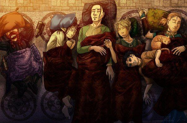 Dragon Age - Awakening team ^^