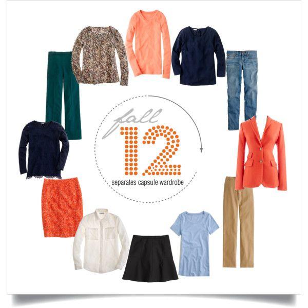 """12 Piece Capsule Wardrobe for Fall"" http://abiggercloset.blogspot.ca/2013/09/fall-capsule-wardrobe-inspired-by.html"