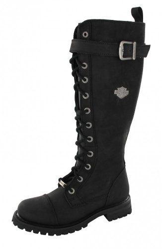 HARLEY DAVIDSON - Boot SAVANNAH - black, Size:37