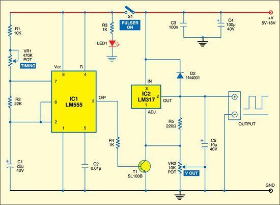 Multipurpose Power Pulser Detailed Circuit Diagram Available Circuit Diagram Circuit Power