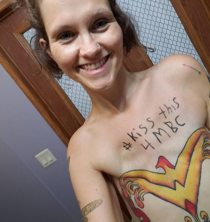 Woman Gets a Wonder Woman Tattoo Over Double Mastectomy Scar