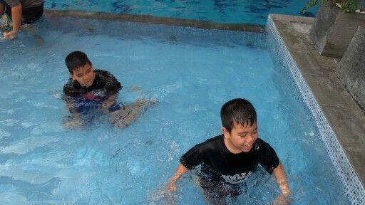 Swimm at hotel ...