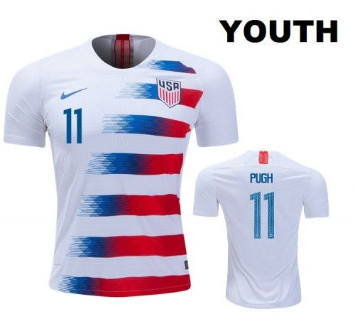best website 47627 54701 Youth Mal Pugh USA Soccer Kids Replica Jersey | Gift for ...