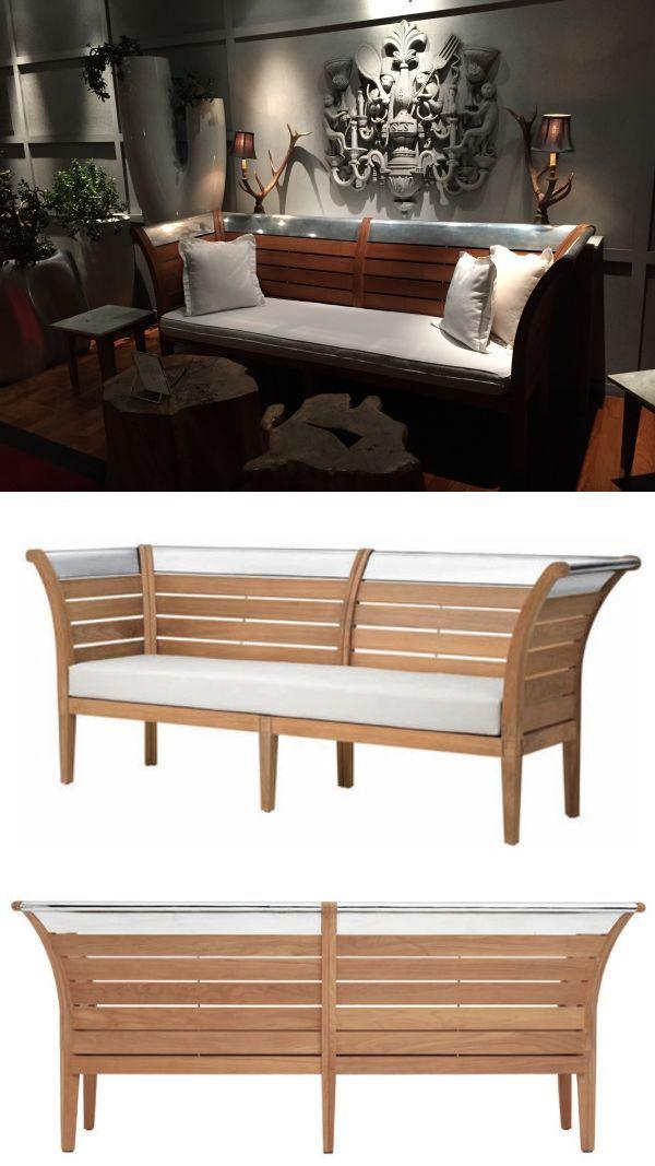 Teak Garden Bench By Philippe Starck At Sls Hotel Teak Garden Bench Furniture Design Teak Garden Furniture
