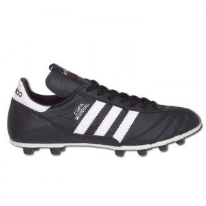 SALE - Mens Adidas Copa Mundial Soccer Cleats Black Leather - Was $119.99 - SAVE $20.00. BUY Now - ONLY $99.99