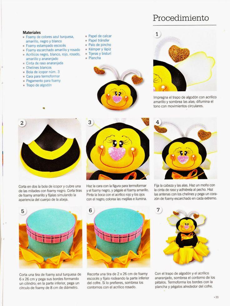 Revistas de manualidades Gratis: Como hacer cupcake en foamy