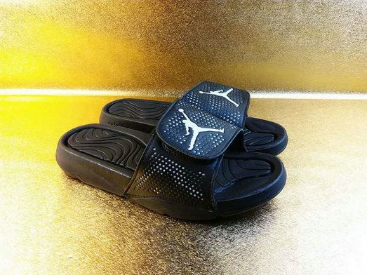 235a7c6e97195 2018-2019 Summer Authentic Official mens off-white Air Jordan Hydro 5 sandals  black-gray Big Size 13