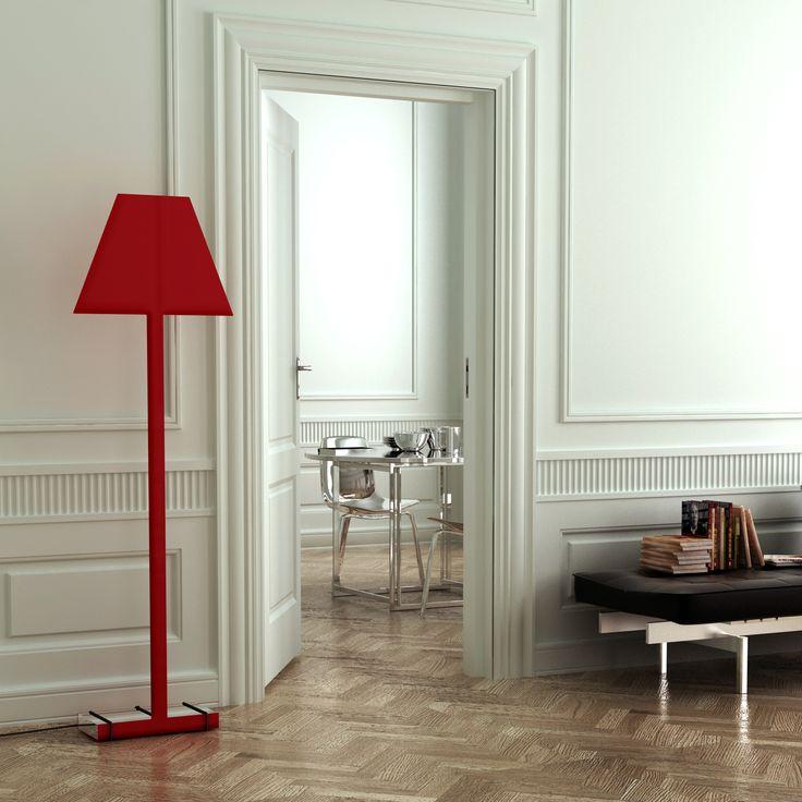 """2.D Floor"", red   Caoscreo http://www.caos-shop.it/commerce/index.asp?idsz=321"