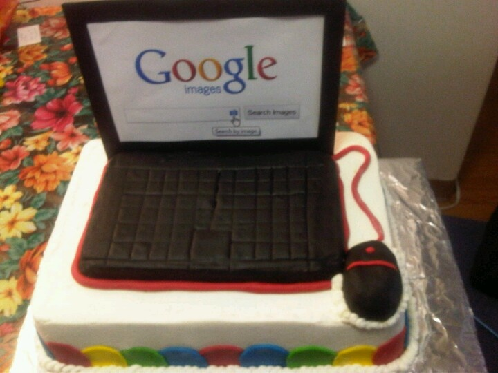 Computer cake Cake ideas Pinterest Computer cake ...
