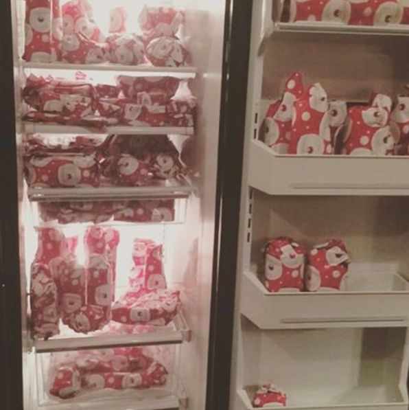 Spin the wheels of whoever is making Christmas breakfast.   19 Hilarious Christmas Pranks That Will Put You On The Naughty List