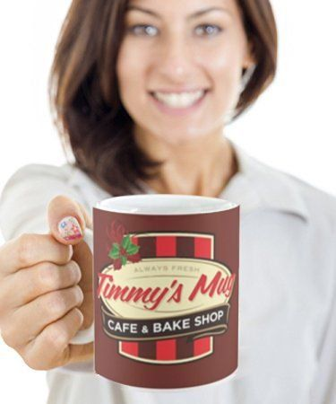 My Timmy's Mug, - Best Gift for Canadian Tim Hortons Coffee Lovers - Gifts for Coworkers Teachers and Friends, Fill Tim Hortons Mugs with mocha pods tassimo tdisc keurig or bunn k cups - 11oz Dishwasher Safe