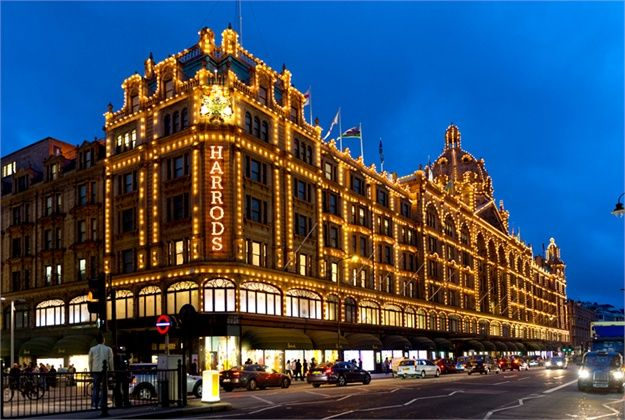 Harrods in London. 9 best destinations in London for shopping >>> http://bit.ly/1NSII2A