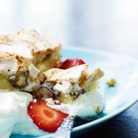 Marengslagkage med jordbær