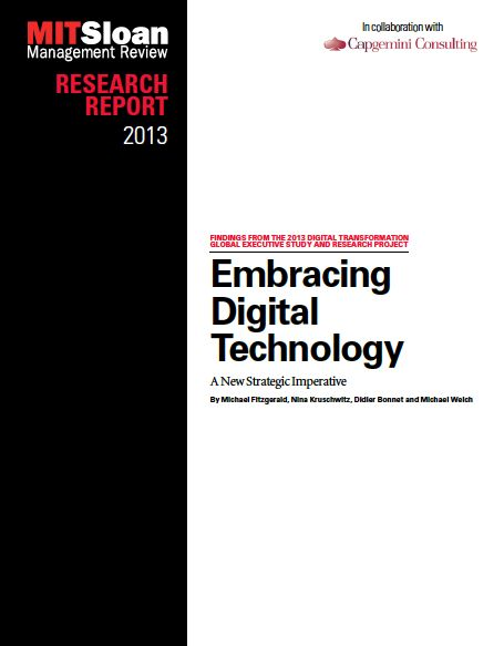 The Digital Transformation Report (as well as the survey) focuses on digital transformation, which are defined as the use of new digital technologies (social media, mobile, analytics or embedded devices) to enable major business improvements (such as enhancing customer experience, streamlining operations or creating new business models).