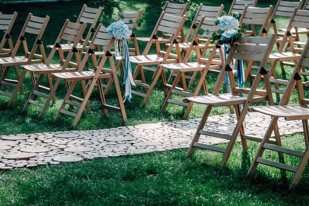 wedding, wedding decor, wedding ceremony, blue tape, свадьба, оформление свадьбы, церемония, свадебная флористика