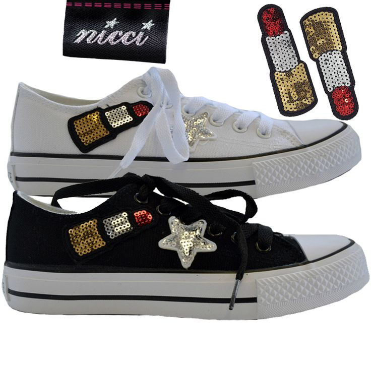 #Lipstick #sequin sneakers now at #Nicci stores & online www.nicci.co.za
