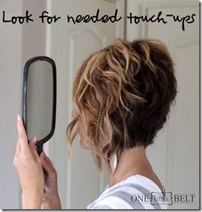 Loose Curls for Short Hair- Tutorial