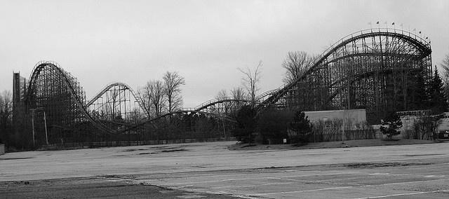 Closed Geauga Lake Amusement park