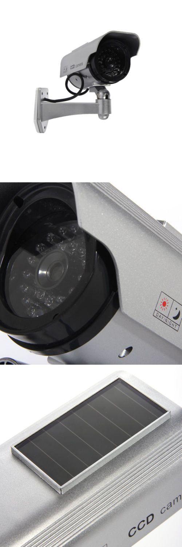 Dummy Cameras: 8X Solar Dummy Security Camera Fake Flashing Light Ir Led Cctv Surveillance -> BUY IT NOW ONLY: $67.99 on eBay!