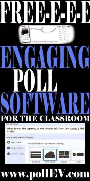 Turn your classroom into an interactive environment. Ask a question and the students respond instantly to your questions with Free Polling Software. Your students will love to watch their responses show up on the screen LIVE.