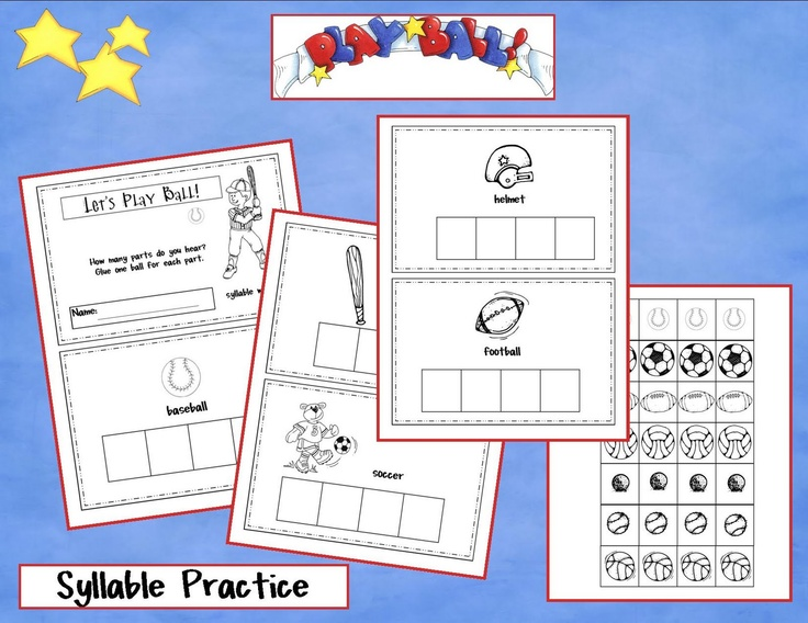 syllable practice from kindergartencrayons.blogspot.com
