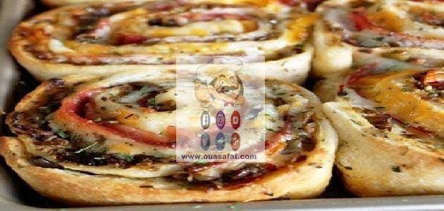كرات البيتزا Pizza Ball Food Bagel
